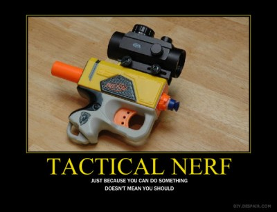 What is your Nerf gun preference?